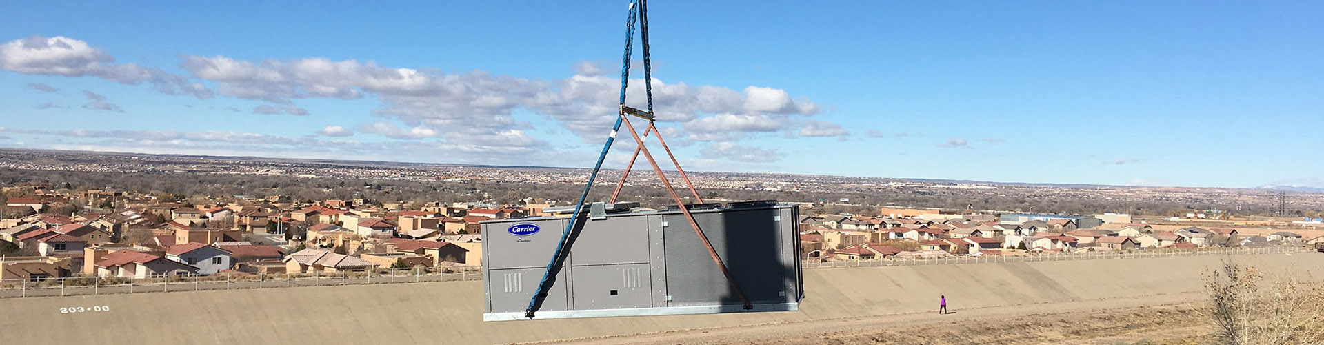 AC installation in New Mexico